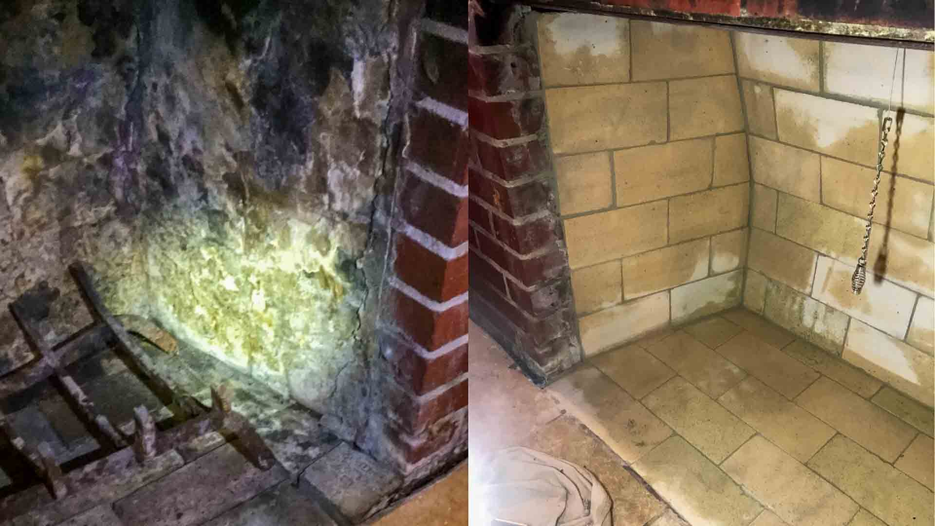 Fireplace Repair Firebox