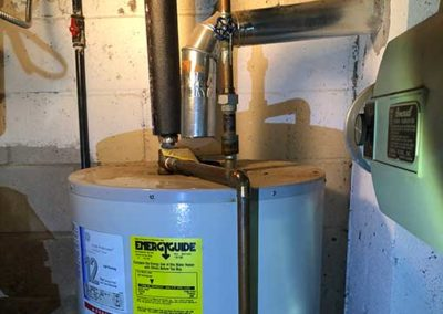 Gas Water Heater Chimney Service