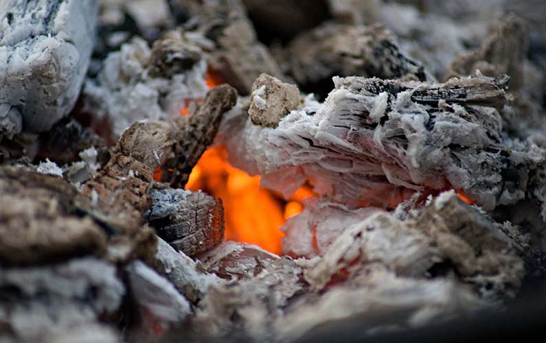 Hot Embers Fireplace Ash Dump Service