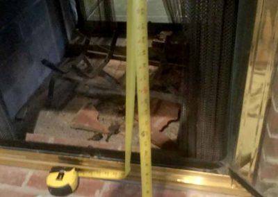 Measure Fireplace Glass Doors