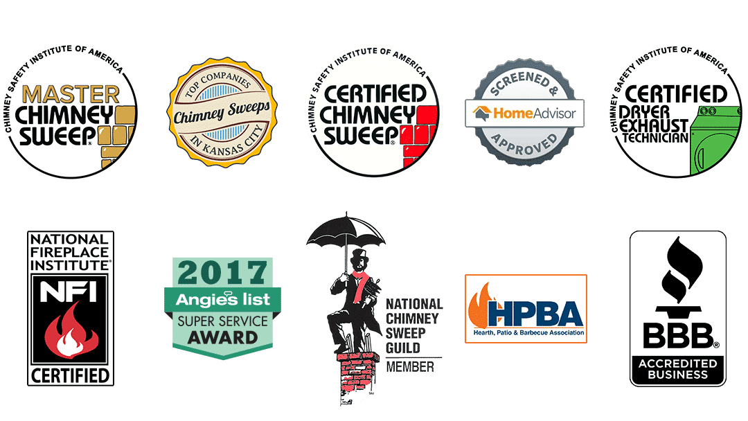 Certified Chimney Sweep in Johnson County Kansas City Area