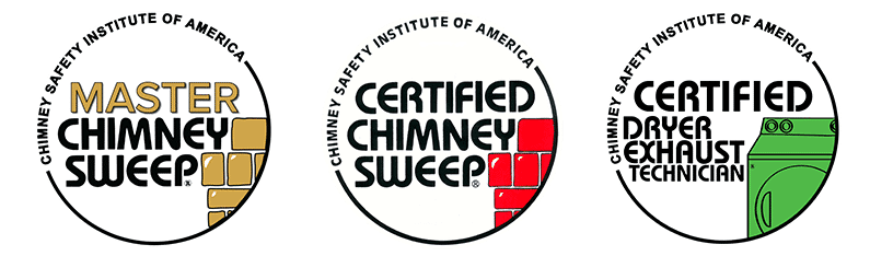 Certified CSIA Master Chimney Sweep  and Dryer Vent Cleaning