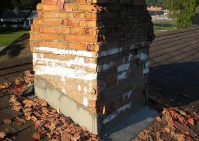 Chimney Leak Repair Brickwork Damage