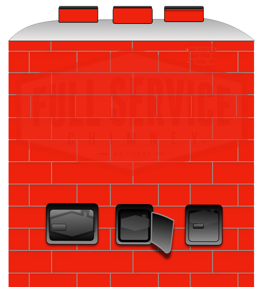 Ash Dump - Ash Disposal Door