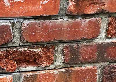 Cracking Brickwork Needs Chimney Waterproofing Treatment