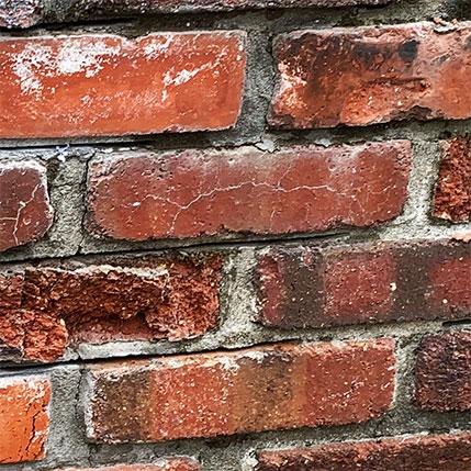 Cracking Brickwork Needs Chimney Waterproofing Treatment