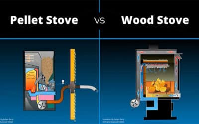 Compare: Pellet Stoves vs Wood Burning Stoves