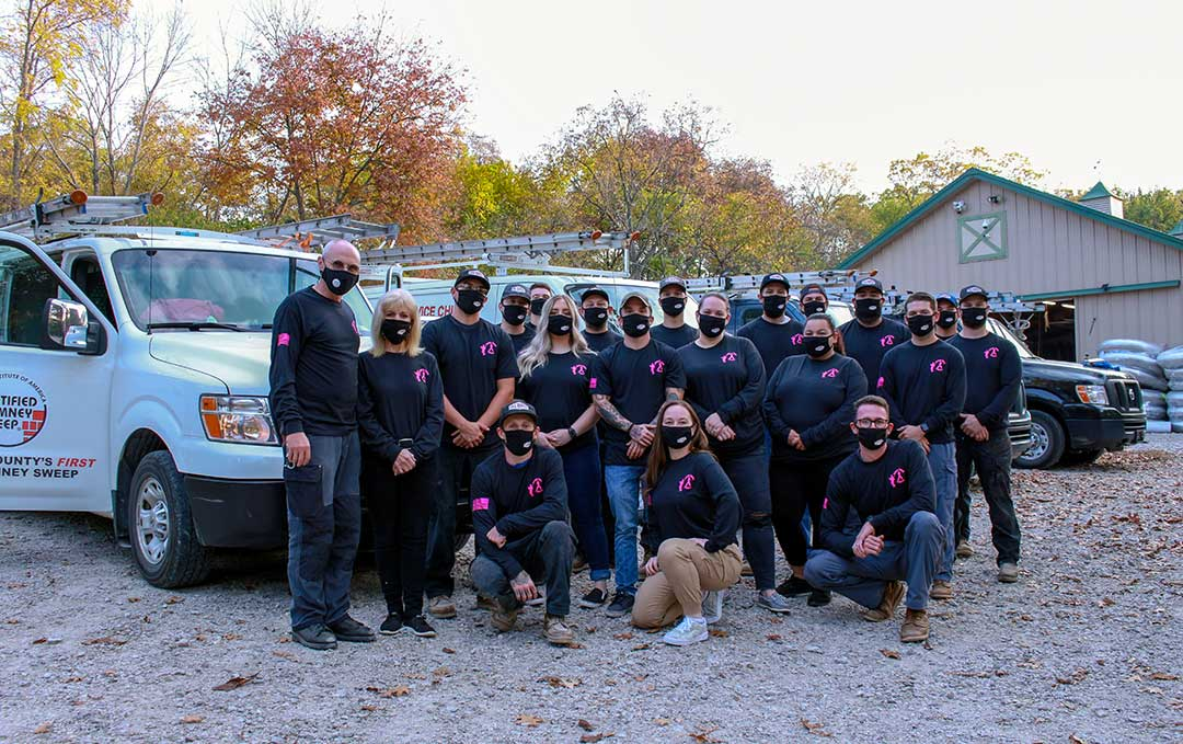 Sweep Away Cancer Team Photo 2020