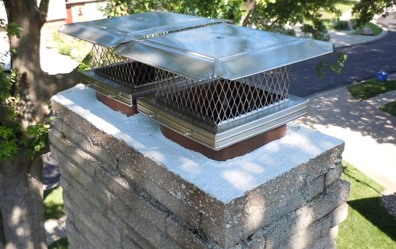 Crown Seal and Stainless Steel Chimney Caps
