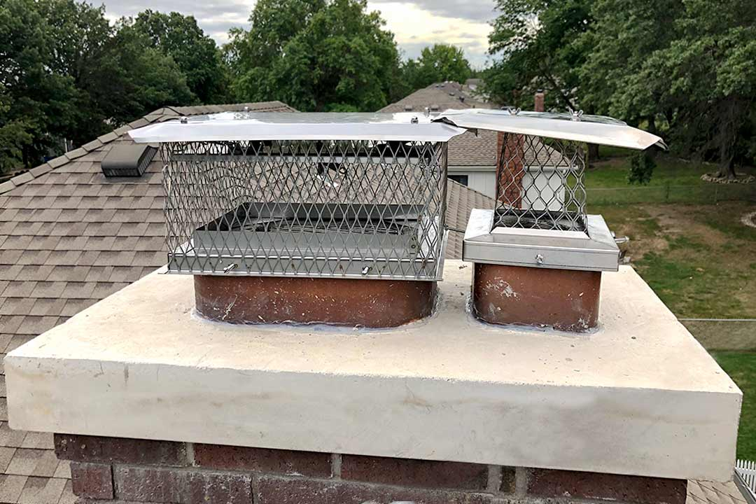 Double Stainless Steel Damper Installation