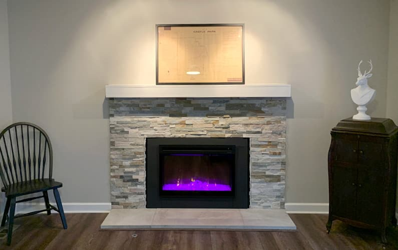 Fireplace Installation and Facelift