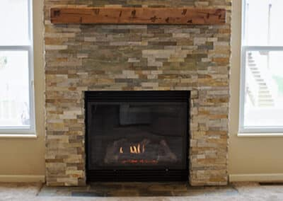 Fireplace Insert and Remodel