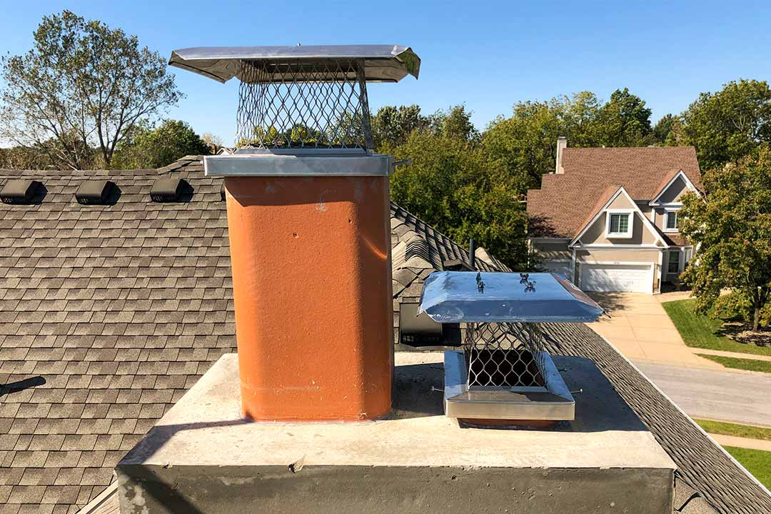 Stainless Steel Chimney Cap and Dampers