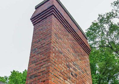 Brick Chimney Rebuild