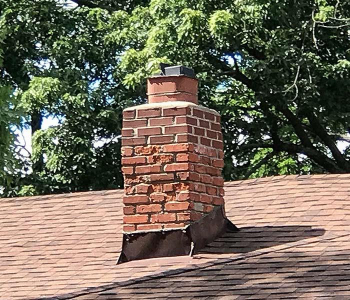 Brick Damage in Louisburg Kansas