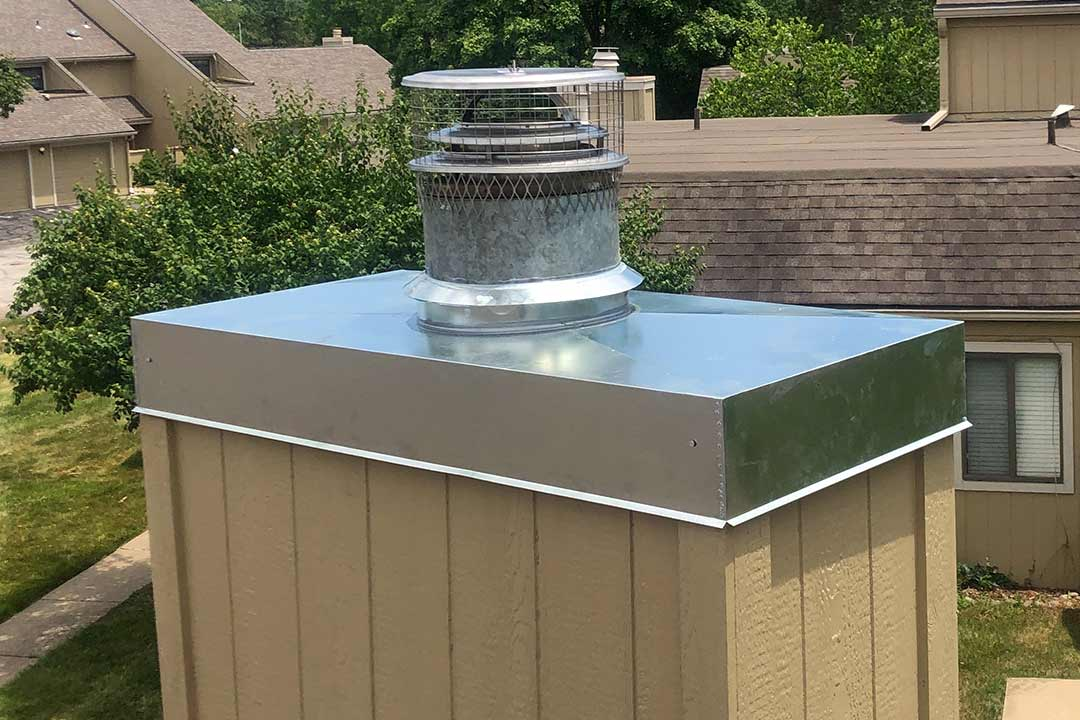 Stainless Steel Chase Cover Replacement in KC Metro