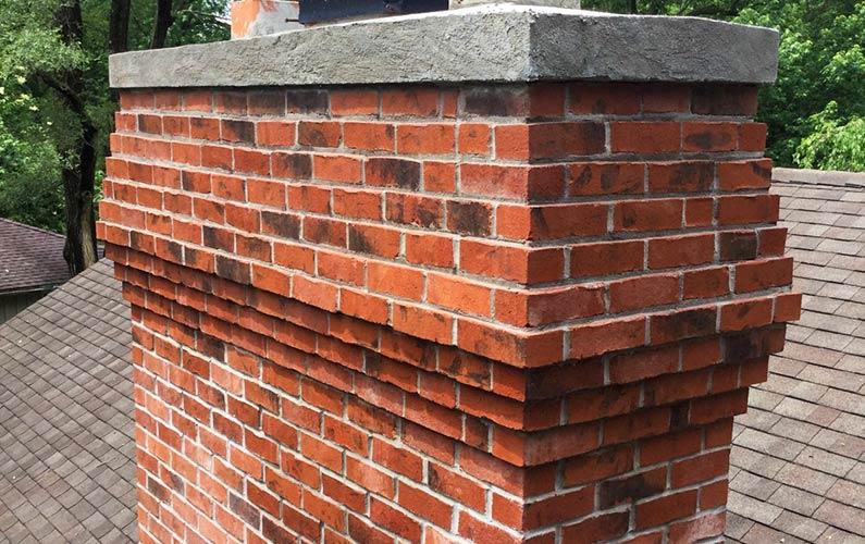 Chimney Repair Brickwork Corbeling