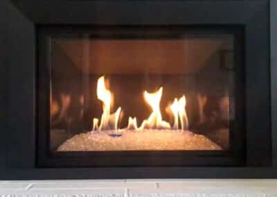 Gas Fireplace Insallation