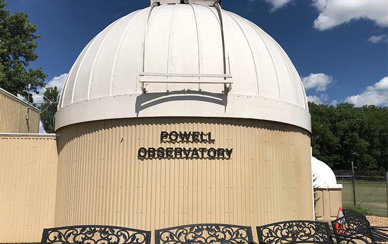 Powell Observatory in Louisburg KS