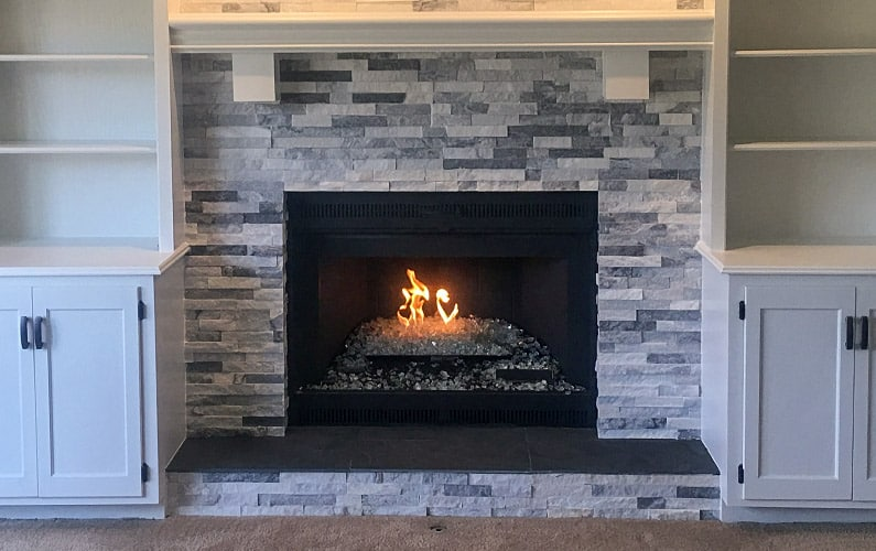 Gas Fireplace in Overland Park, KS