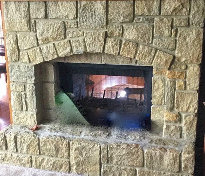 Fireplace in Louisburg Kansas