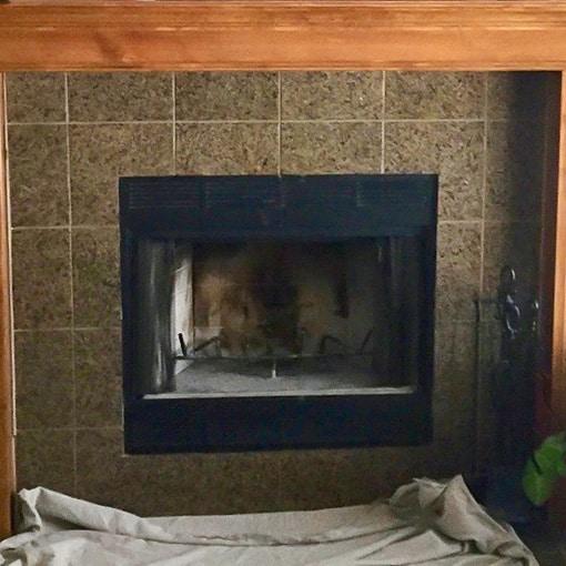 Fireplace Remodel in Gardner KS