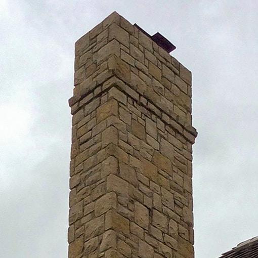 Loch Lloyd, MO Stone Chimney