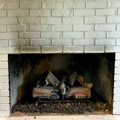 How to Remove Soot Stains Inside Fireplace