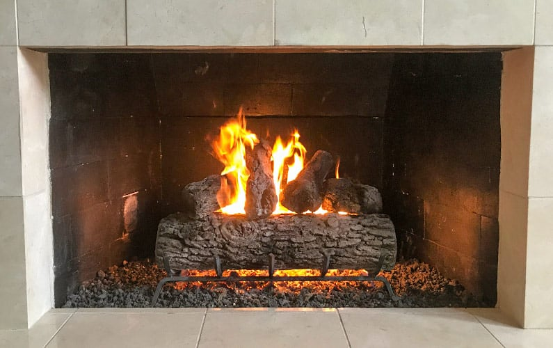 Type of Gas Fireplace