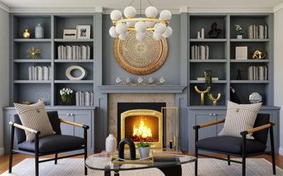 10 Fireplace Mantel Decorating Ideas