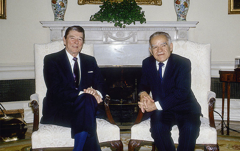 Ronald Reagan White House Oval Office