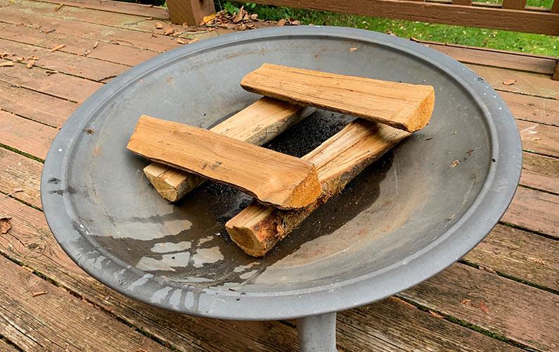 Light Outdoor Fire Pit Step 2