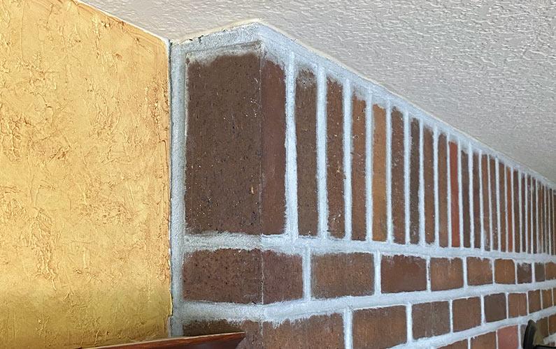 Brick Fireplace Surround