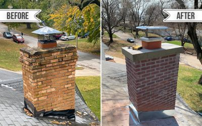 Chimney Crown Seal vs New Construction