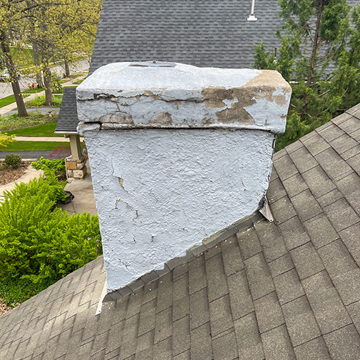 Stucco Chimney Pictures