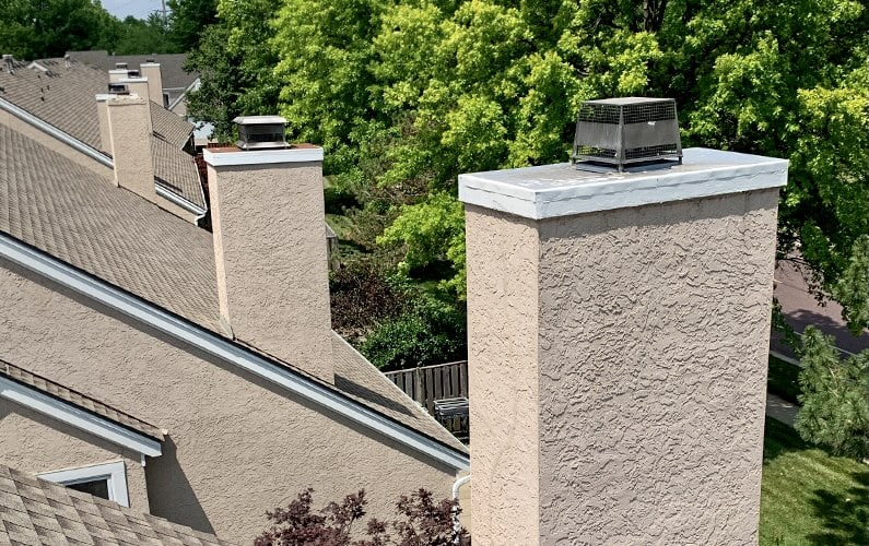 The Problem with Stucco Chimneys