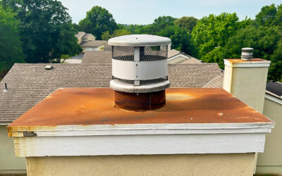 Roof Rust and Your Chimney