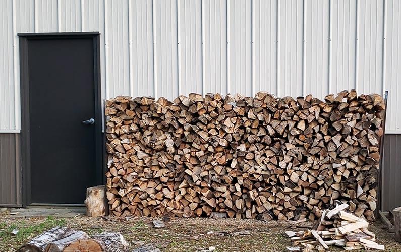 Cord of Wood Storage